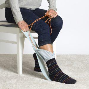 Socky aantrekken